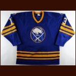 1984-85 Jim Schoenfeld Buffalo Sabres Game Worn Jersey