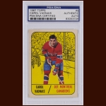 Carol Vadnais 1967 Topps – Montreal Canadiens – Autographed – Deceased – PSA/DNA