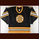 1980's Bobby Orr Bruins Charity Worn Jersey - Autographed - Photo Match
