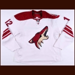 2007-08 Craig Weller Phoenix Coyotes Game Worn Jersey – Rookie - Team Letter
