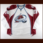 2010-11 David Koci Colorado Avalanche Game Worn Jersey – Team Letter