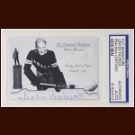 Lester Patrick Autographed Card - The Broderick Collection - Deceased