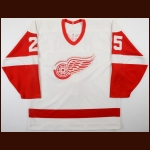 1988-89 Randy McKay Detroit Red Wings Game Worn Jersey – Rookie