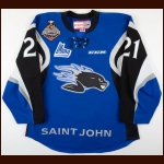 "2016-17 Mathieu Joseph Saint John Sea Dogs Game Worn Jersey – ""2017 Memorial Cup - Photo Match – Team Letter"