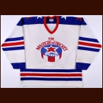 "1982 Don Awrey ""The Masters of Hockey"" Old Timers Game Worn Jersey"