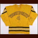 Mid 1950's West Point Game Worn Jersey – Worn by Major General Thomas Harvey Jr.