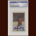 Billy Reay 1952 Parkhurst - Monteal Canadiens - Autographed - Deceased - PSA/DNA