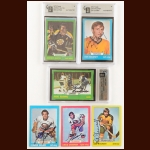 1973-74 Topps Autographed Card Group of (37) – Includes Hall of Famers and Deceased