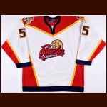 2000 Rocky Thompson Louisville Panthers Game Worn Jersey
