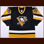 "1989-90 Mark Recchi Pittsburgh Penguins Game Worn Jersey – ""41st NHL All Star"" - Photo Match"
