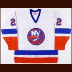 1983-84 Mike Bossy New York Islanders Game Worn Jersey - 1st Team NHL All Star - Possible 400th Goal – Photo Match – Video Match