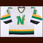 1988-89 Dave Gagner Minnesota North Stars Game Worn Jersey