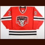 1989-90 Rock Chatel Granby Bisons Game Worn Jersey