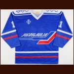 Circa 1991 Yugoslavian National Team Game Worn Jersey – Player #11