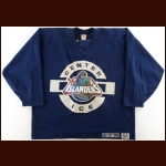 New York Islanders Fisherman Logo Practice Worn Jersey