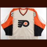 1981-82 Darryl Sittler Philadelphia Flyers Game Worn Jersey - Photo Match