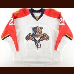 2015-16 Vincent Trocheck Florida Panthers Game Worn Jersey – Photo Match