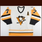 "1989-90 Paul Coffey Pittsburgh Penguins Game Worn Jersey – ""41st NHL All Star"" - 2nd Team NHL All Star - All Star Season - Last 100-Point Season"