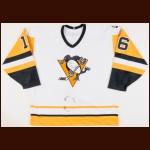 "1990-91 Jay Caufield Pittsburgh Penguins Game Worn Jersey – ""41st NHL All Star"" - Stanley Cup Season"