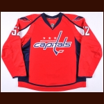 2013-14 Mike Green Washington Capitals Game Worn Jersey - Photo Match