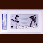 Frank Fredrickson Autographed Card - The Broderick Collection - Deceased