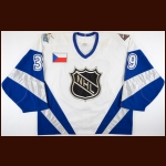 "1999 Dominik Hasek NHL All Star Game Worn Jersey – ""1999 Tampa Bay NHL All Star Game"""