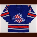 Early 1980's Bob Mongrain Rochester Americans Game Worn Jersey