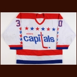 1994 Jim Carey Washington Capitals Pre-Season Game Worn Jersey – Rookie