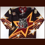"2000-01 Paul Kruse Chicago Wolves IHL All Star Game Game Worn Jersey – ""2001 Chicago IHL All Star"" – ""Two-Time Turner Cup Champions"" - Last-Ever IHL All Star Game"