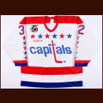 1991-92 Dale Hunter Washington Capitals Game Worn Jersey
