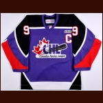 2004-05 Alexandre Picard CHL All Star Game Worn Jersey - CHL Letter