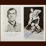 Duncan McCallum Pittsburgh Penguins 8x10 B&W Autographed Photo – Deceased