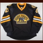 2015-16 Lee Stempniak Boston Bruins Game Worn Jersey – Alternate – Team Letter