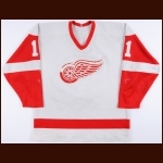 1986-87 Shawn Burr Detroit Red Wings Game Worn Jersey