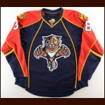 2007 Corey Syvret Florida Panthers Training Camp Worn Jersey – Team Letter