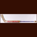 Grant Fuhr St. Louis Blues Blue Sher-Wood Game Used Stick – Autographed