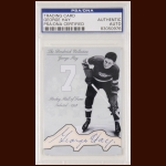 George Hay Autographed Card - The Broderick Collection - Deceased