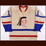 Late 1960's Muskegon Mohawks Game Worn Jersey – Player #11