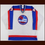 1980-81 Mark Plantery Winnipeg Jets Game Worn Jersey