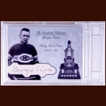 Georges Vezina Autographed Card – The Broderick Collection – Deceased