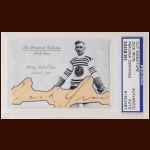 Dick Irvin Autographed Card - The Broderick Collection - Deceased