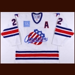 2006-07 Greg Jacina Rochester Americans Game Worn Jersey