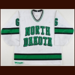 1993-95 Nick Naumenko University of North Dakota Game Worn Jersey - Photo Match