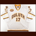 "2010-11 Mike Seidel University of Minnesota-Duluth Game Worn Jersey – ""Amsoil Arena Inaugural Season"" - 1st UMD National Championship"