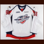 2012-13 Josh Ho-Sang Windsor Spitfires Game Worn Jersey – Rookie - Photo Match