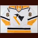 1993-94 Jaromir Jagr Pittsburgh Penguins Game Worn Jersey - Team Letter