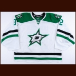 2014-15 Kari Lehtonen Dallas Stars Game Worn Jersey - Photo Match – Team Letter