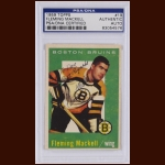 Fleming Mackell 1959 Topps – Boston Bruins – Autographed – Deceased – PSA/DNA