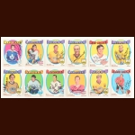 1971-72 OPC Autographed Card Group of (12) – Includes Hall of Famers and Deceased