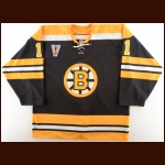 "2003-04 P.J. Axelsson Boston Bruins Game Worn Jersey – ""Vintage"" – NHL Letter"